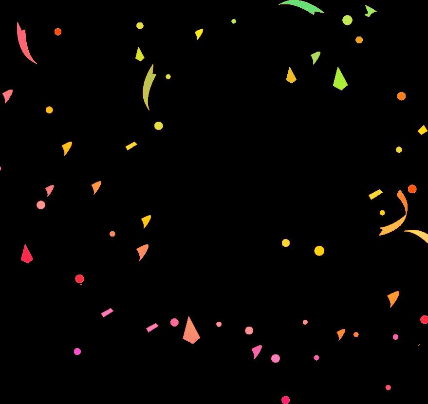 pages confetti